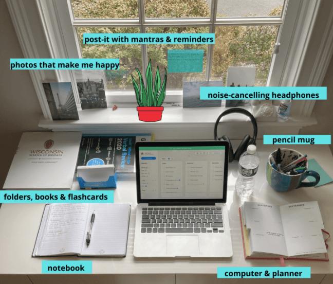 My study space! ~Ayden
