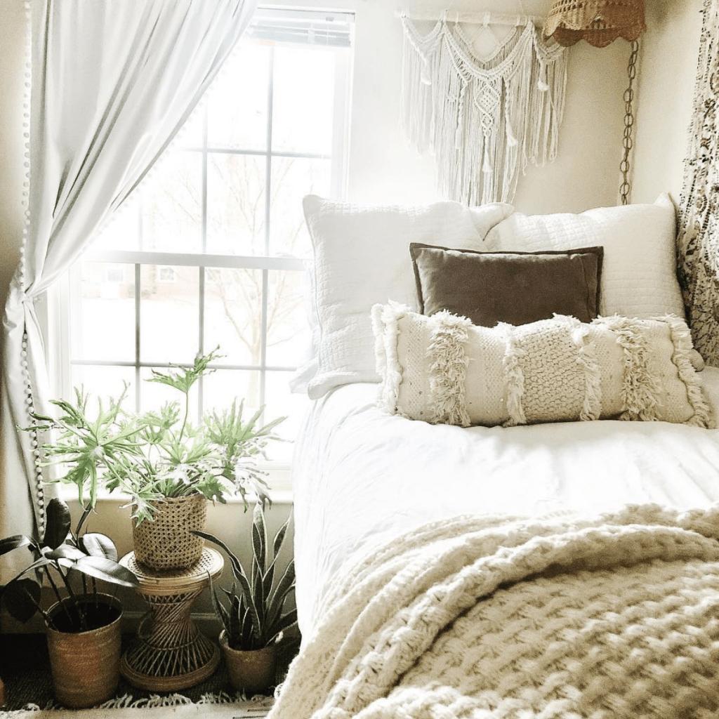 Dorm room bed